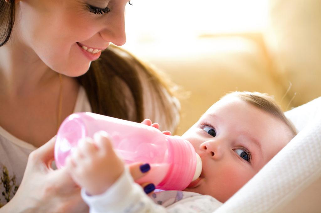 Alimentatia bebelusului la patru luni